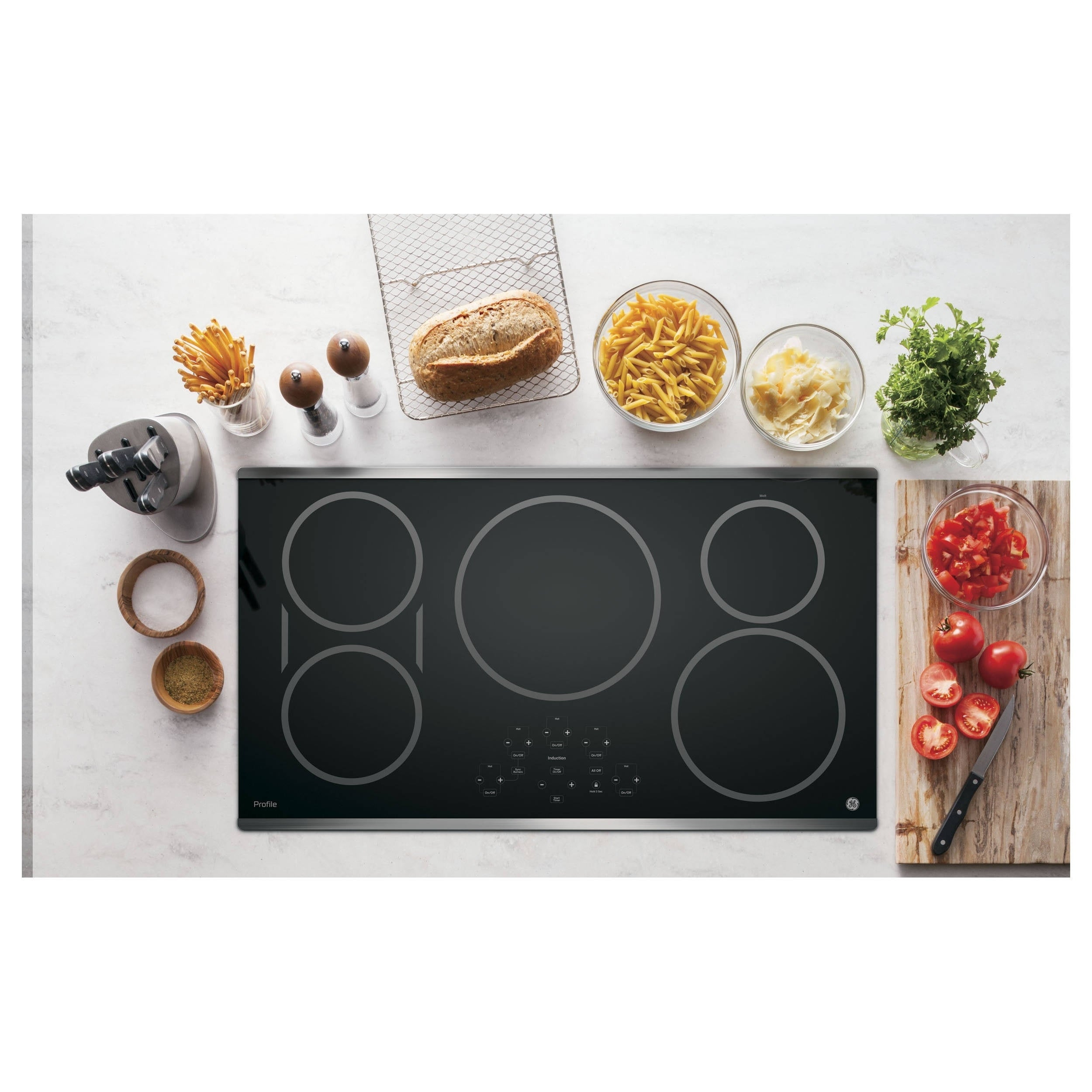 GE Profile Series 36-inch Built-in Touch Control Inductio...