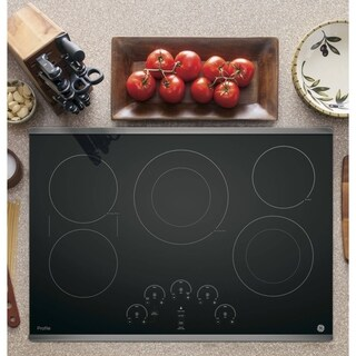 GE Profile Series 30-inch Built-in Touch Control Electric Cooktop