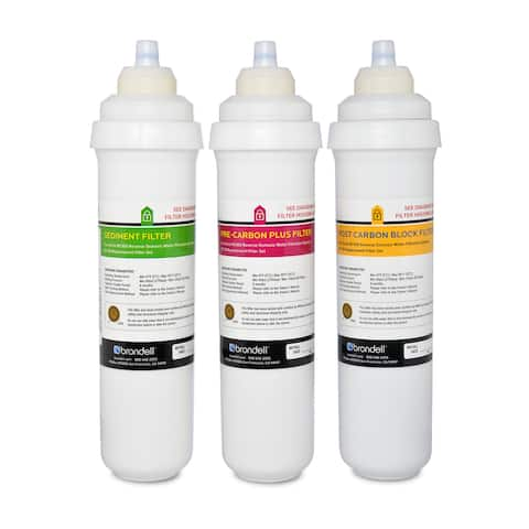 H2O+ Circle Triple Filter Replacement Pack