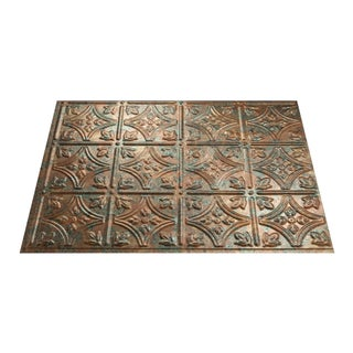 Fasade Traditional Style #1 Copper Fantasy 18-inch x 24-inch Backsplash Panel (1 Sheet) (2 options available)