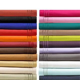 elegant comfort luxurious wrinklefree deep pocket bed sheet set