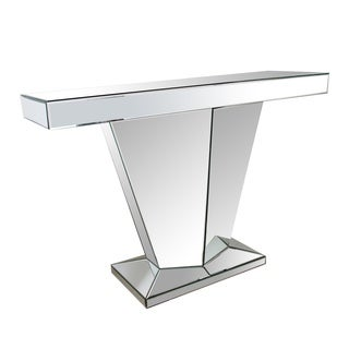 Abbyson Mirrored Sofa Table