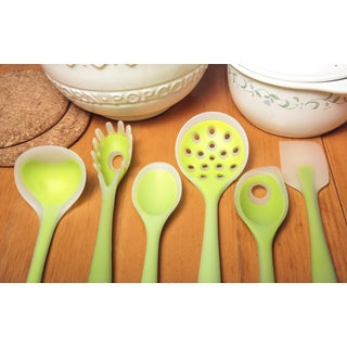 Kitchen Utensil Set Green 6-piece Set