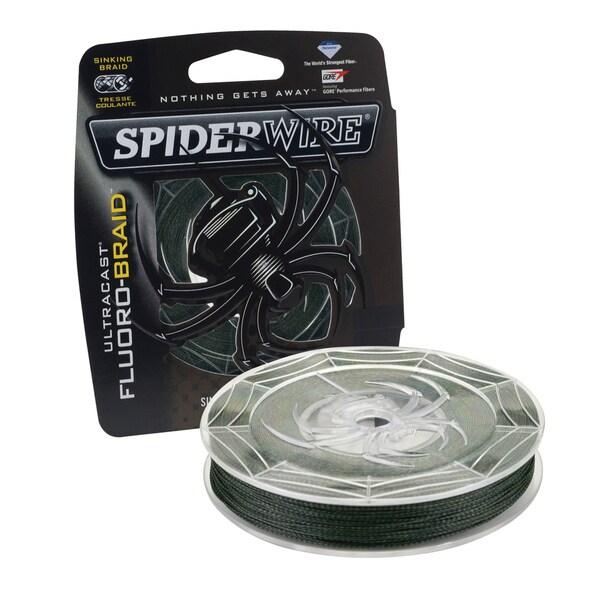 Spiderwire Ultracast Fluoro-Braid 15-pound 300 Yards