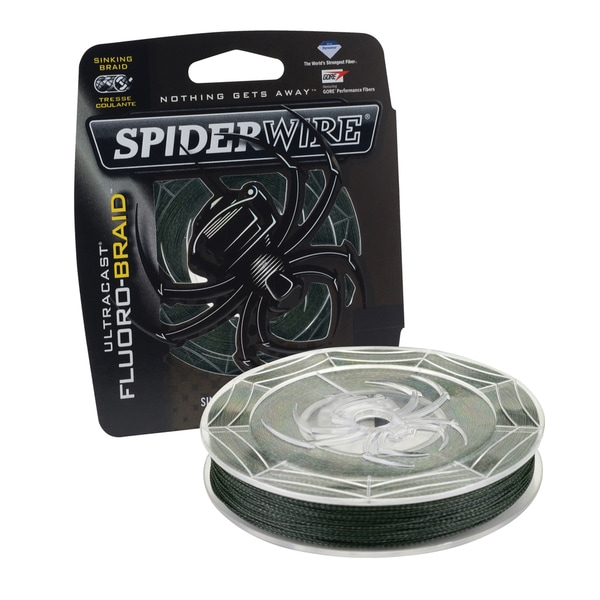 Spiderwire Ultracast Fluoro-Braid 65-pound 250 Yards