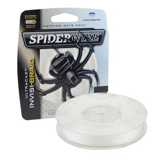 Spiderwire Ultracast Invisi-Braid 50-pound 300 Yards
