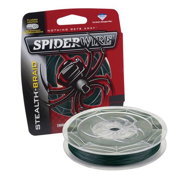 Spiderwire Stealth Braid Moss Green 40-pound 500 Yards