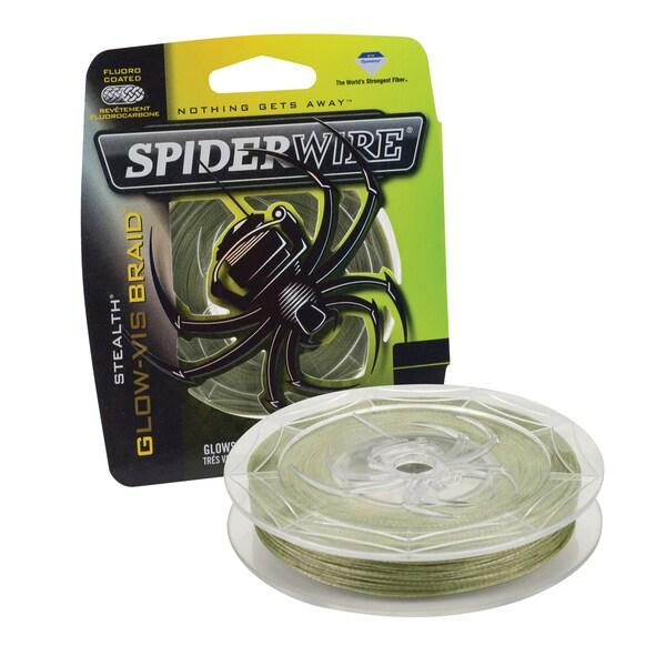 Spiderwire Stealth Braid Glow-Vis 8-pound 300 Yards