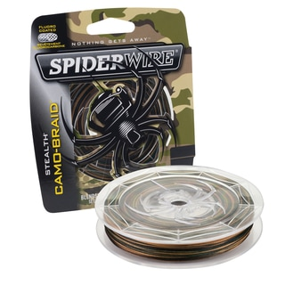 Spiderwire Stealth Braid Camo 15-pound 300 Yards