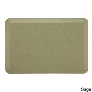 Comfort Co. Walnut Anti-Fatigue Kitchen Mat (2' x 3') (Option: Sage)