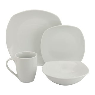 10 Strawberry Street 16-piece Square Dinnerware Set
