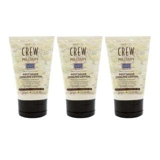 American Crew Military Edition Post-Shave 4.2-ounce Cooling Lotion (Pack of 3)