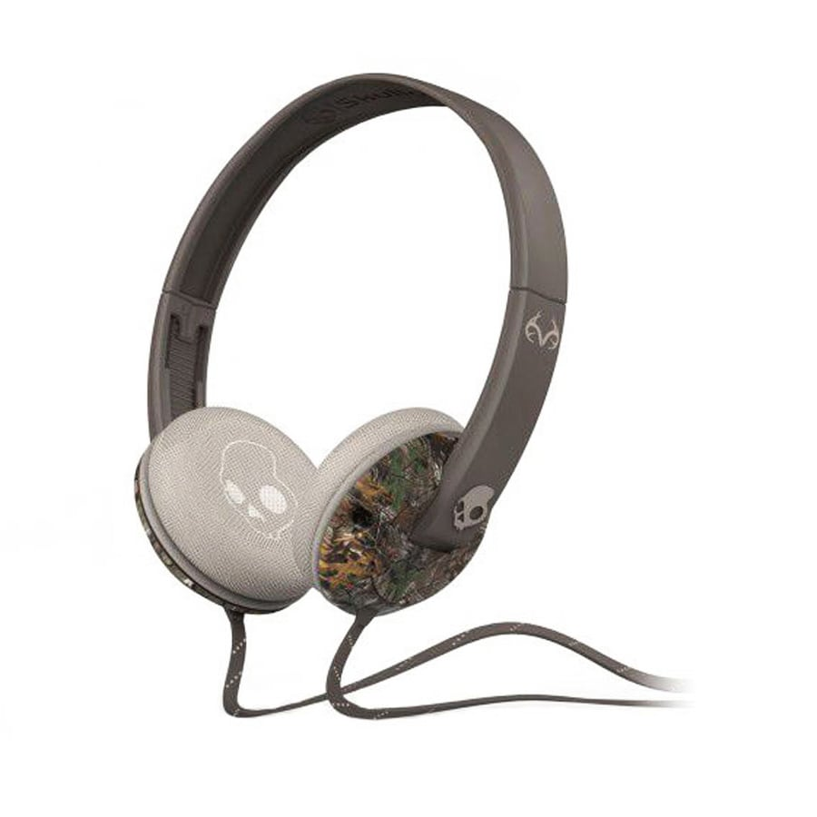 Skullcandy Uprock Camo (Green) On-ear Headphones with Mic...