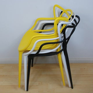 Mod Made Plastic Loop Chair (Pack of 2)