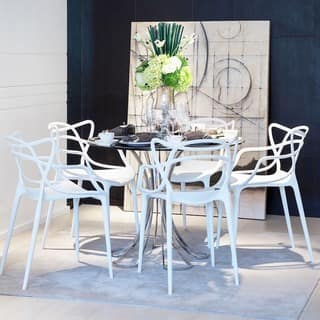 Mod Made Contemporary Stackable Plastic Loop Dining Arm Chair (Set of 2)|https://ak1.ostkcdn.com/images/products/10336476/P17446430.jpg?impolicy=medium