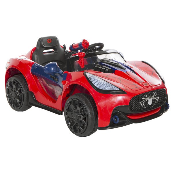 Spider Man 6v Super Ride On Car Free Shipping Today