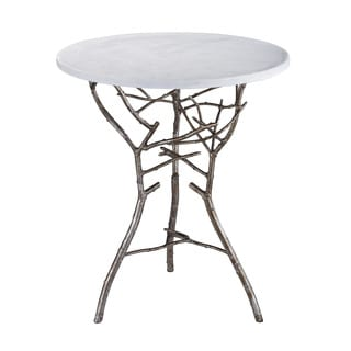 LS Dimond Home Silver Thicket Table