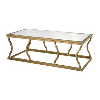 LS Dimond Home Metal Cloud Coffee Table