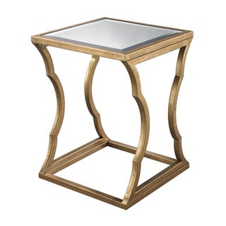 LS Dimond Home Metal Cloud Side Table