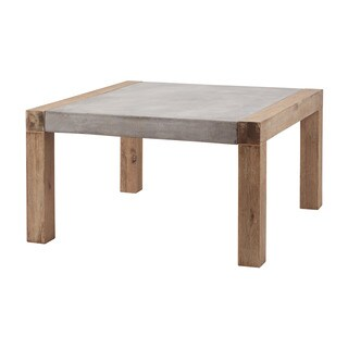 LS Dimond Home Small Arctic Coffee Table