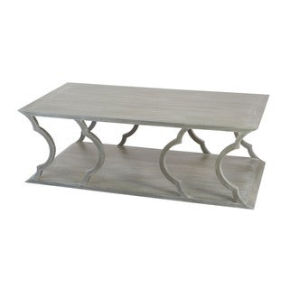 LS Dimond Home Mahogany Cloud Coffee Table