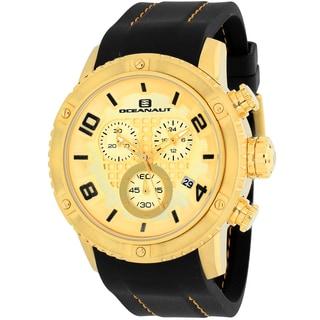 Oceanaut Men's OC3123R Impulse Sport Round Black Silicone Strap Watch