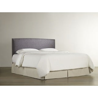 Cameron Boulder Grey Upholstered Headboard