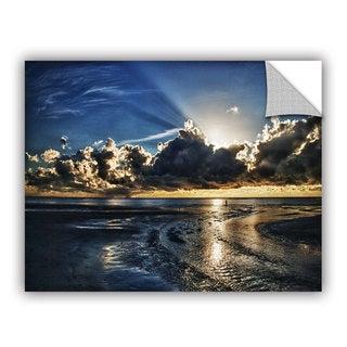 ArtWall Dan Wilson ' Atlantic Sunrise ' Art Appealz Removable Wall Art
