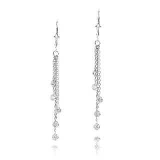 Luxurman 14k Gold 1ct TDW Chandelier Earrings (3 options available)