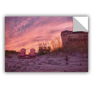 ArtWall Dan Wilson ' Outer Banks-Pink ' Art Appealz Removable Wall Art