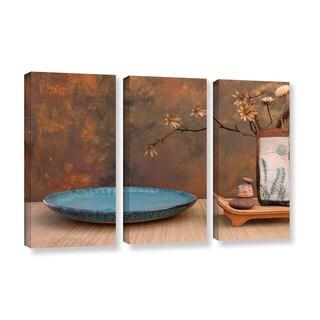 ArtWall Elena Ray ' Zen Still Life 3 Piece ' Gallery-Wrapped Canvas Set