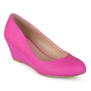 Women's Journee Collection 'Dolup' Classic Round-toe Wedges