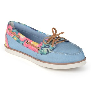 Journee Collection Women's 'Balsam' Slip-on Bow Loafers