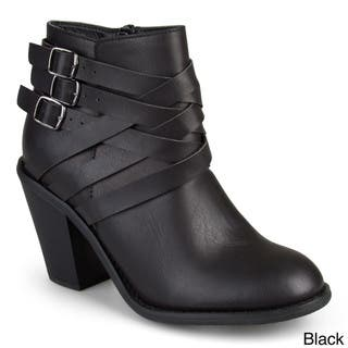 e9e0acf1c945 Buy Black Women s Booties Online at Overstock