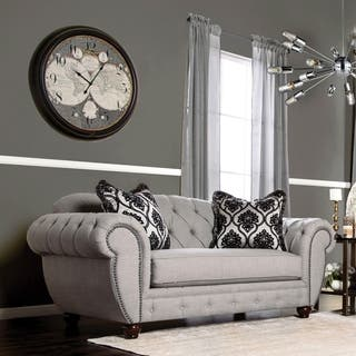 Furniture of America Augusta Victorian Grey Sofa|https://ak1.ostkcdn.com/images/products/10337995/P17447728.jpg?impolicy=medium