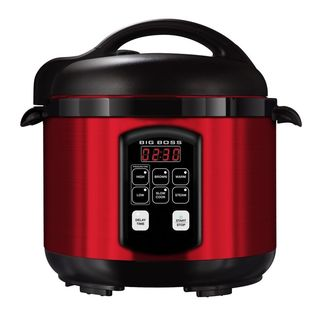 Big Boss 5 Quart Stainless Steel Electric Pressure Cooker