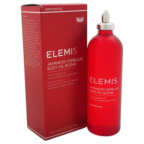 Elemis Japanese Camellia 3.3-ounce Body Oil Blend