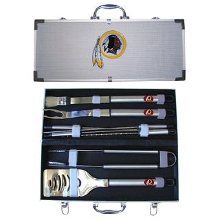 Washington Redskins 8-Piece Stainless Barbecue Set