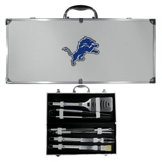 Detroit Lions 8-Piece Stainless Steel Barbecue Set