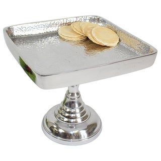 Pampa Bay Aluminum 8-inch Square Cake Stand