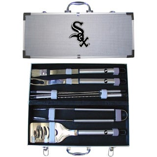 Chicago White Sox 8-Piece Stainless Steel Barbecue Set
