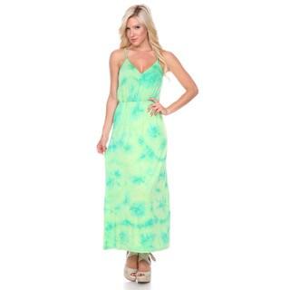 Stanzino Women's Tie Dye Tank Maxi Dress