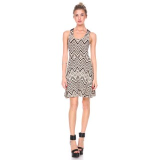 Stanzino Women's Printed Tank Dress