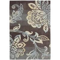 Nourison Contour Hand-Tufted Brown Rug (8' x 10'6)
