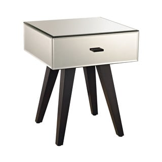 LS Dimond Home Modern Leg Mirror Side Table