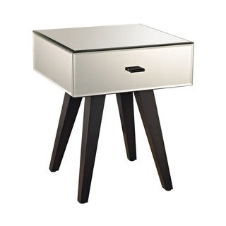 LS Dimond Home Modern Leg Mirror Side Table