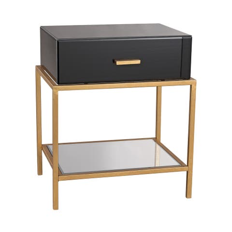 LS Dimond Home Evans Side Table