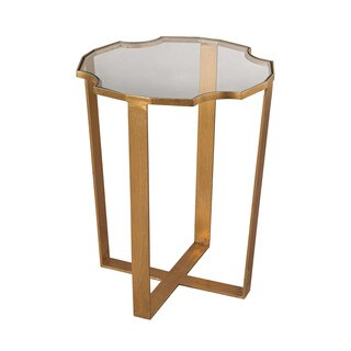 LS Dimond Home Cutout Top Martini Table