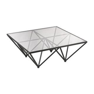 LS Dimond Home Geometric Coffee Table