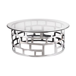 LS Dimond Home Organic Cutouts Coffee Table